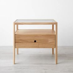 Spindle Oak Nightstand | Unison Furniture, Dining Room Chairs, Bedroom Furniture, Bedroom Seating Area, Oak Nightstand, Simple Bedroom, Nightstand, White Oak Wood, Oak