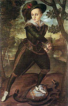 Prince Henry, eldest son of James I