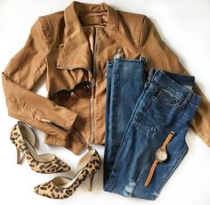 It's time for a roundup! Shop all of my looks from Insta lately in this post. Shoes, my favorite jacket, lots of leopard...gang's all here!