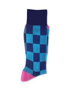 9788 Connor Calza uomo jacquard - men socks jacquard