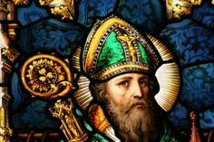 Stained glass Saint Patrick  :)