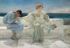 """""""Ask me no more"""" by Sir Lawrence Alma-Tadema 1906 oil on canvas  31 x 44¾ in Provenance March 1906 Arthur Tooth & Sons, London, commissioned from the artist 1906 acquired by M. Knoedler & Sons, London April 1907 acquired by Felix Isman, Philadelphia 1912 acquired by Moulton & Ricketts Galleries, New York 1913 acquired by Thomas Frederick Cole, New York 15 March 1945 acquired by Edwin H. Fricke, California 9 May 1978 anonymous sale Skinner, Boston Sold 1 Nov 2012 Christie's New York…"""