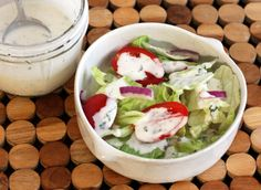 Fast and Easy Buttermilk Dressing: Quick Buttermilk Dressing