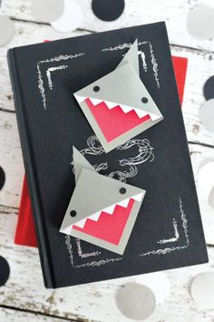 Shark Week: Corner Shark Bookmark