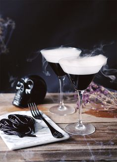Halloween Cocktails Cinemagraphs by Kitchen Ghosts – Fubiz Media