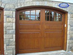 Heritage Classic Model P108C Horizontal Meranti Garage Door