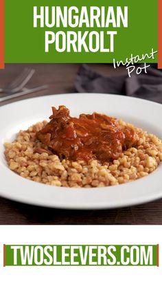 goulash recipes hungarian / goulash recipes ` goulash recipes easy ` goulash recipes easy ground beef ` goulash recipes crockpot ` goulash recipes instant pot ` goulash recipes paula deen ` goulash recipes hungarian ` goulash recipes easy one pot Pork Goulash, Goulash Recipes, Shrimp Recipes For Dinner, Appetizer Recipes, Instant Pot Pressure Cooker, Pressure Cooker Recipes, Eastern European Recipes, Hungarian Recipes