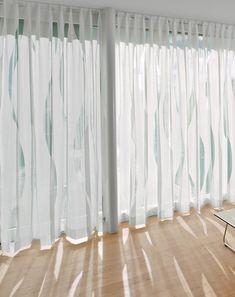 Roller blinds by Création Baumann   Wave curtain tracks   Ora ..