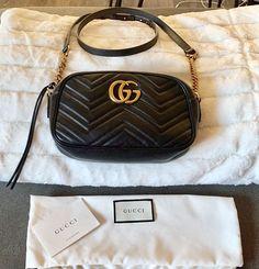 dedf69c80bf Gucci Marmont Small Matelassé Camera Bag Black  fashion  clothing  shoes   accessories