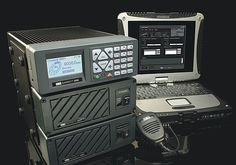 The Barrett 2050 HF transceiver    In addition to providing all common modes of HF transmission, most currently used selective call formats and MIL STD 188-141B Automatic Link Establishment, the 2050 transceiver has a new generation, simple