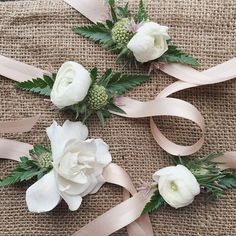 Maybe The Sweetest Wrist Corsages Weve Ever Made