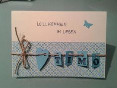 Card Self Crafts Birth Card Birth Of Cards Works On Dawandacom Cards … - Deutschland Ideen Baby Cards, Kids Cards, Birthday Diy, Birthday Cards, Pinterest Cards, Diy And Crafts, Paper Crafts, Karten Diy, Stamping Up