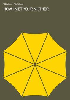 How I Met Your Mother (2005–) - Minimal TV Poster by Albert Exergian #minimaltvposters #alternativetvposters #albertexergian