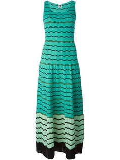 Shop M Missoni chevron striped maxi dress in Cumini from the world's best independent boutiques at farfetch.com. Over 1500 brands from 300 boutiques in one website.