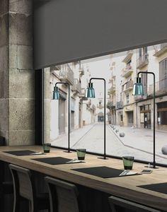 Table lamp / contemporary / blown glass / borosilicate glass - DROP/DRIP BIBLIO by Christophe Mathieu - BOVER Barcelona