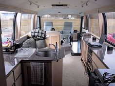 How To Live Simply in a 39 Foot RV — Unclutterer 05.19.2008