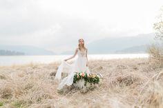 elopement inspiration - photo by Jeremy Chou Photography http://ruffledblog.com/elopement-inspiration-at-big-bear-lake