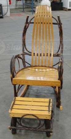 handmade chair and stool. I wonder if my Dad could make this for me! :) @Karen Stoffers Pugh What do you think? You may need one too! LOL