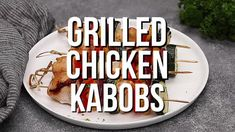 Grilled Chicken Kabobs Recipe | Chicken and Vegetable Kabobs | Grilled Chicken Skewers #grilling #chicken #kabobs #dinner #dinneratthezoo Chicken Kabob Recipes, Grilled Chicken Skewers, Marinated Chicken, Colorful Vegetables, Chicken And Vegetables, Kebabs, Grilling, Food Ideas, Dinner