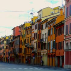 Holiday Places, Bologna, Grande, Sweet, Houses, Italia, Candy
