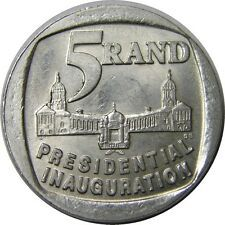 South Africa 5 Rand, Presidential Inauguration for sale online Rare Coins Worth Money, Valuable Coins, Nelson Mandela Foundation, Presidential Inauguration, Sell Old Coins, Africa Quotes, News South Africa, Old Money, Coins For Sale