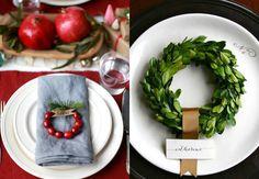 blog de decoração - Arquitrecos: Ideias de última hora para o Natal: Marcadores de Lugar, embrulhos e mais!