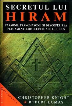 Christopher Knight, Robert Lomas - Secretul lui Hiram Christopher Knight, My Books
