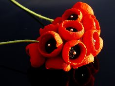 'Poppies' 12 Polymer clay projects in 2013, July