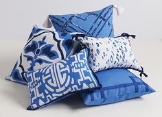 Lacefield TYPHOON OUTDOOR PILLOW COLLECTION #designingwomen #madeintheusa #outdoorliving
