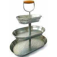 Triple-Tier Glavanized Steel Serving Stand - $2.97 Shipping - Sam's Club