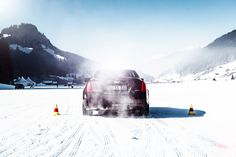 WINTERSPORT WAGEN // CADILLAC ATS COUPE by Tim Adler for Heldth