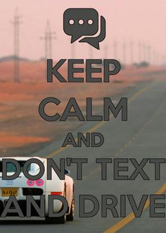 The text can wait even if it's important or urgent. Once you stop driving you just let that person who texted you that you were driving. When you are driving, the last thing you want distracting you is a text message.