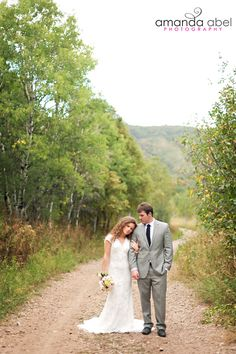 Utah wedding photography | Bridal photography | Bride and Groom | Amanda Abel Photography | Snowbasin Ski Resort | Outdoor bridals
