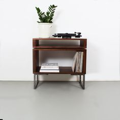 Vinyl Record Cabinet, Vinyl Record Storage, Small Sideboard, Sideboard Cabinet, Turntable Setup, Vinyl Record Collection, Dining Room Furniture, Custom Furniture, Solid Oak