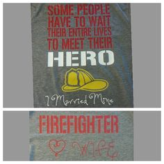 Firefighters Wife Shirt by emilyolivecollection. Explore more products on http://emilyolivecollection.etsy.com