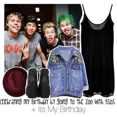 Celebrating my Birthday by going to the Zoo with 5sos + Its My Birthday