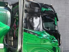 Cool truck painting