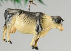 German Dresden Guernsey Cow