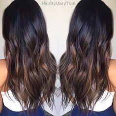 Chocolate subtle Ombre and blended haircut on Asian hair | Yelp http://haircut.haydai.com #Mary, #Photos, #Tran http://haircut.haydai.com/mary-tran-photos/