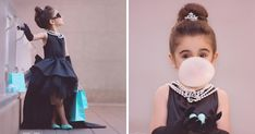 We Set Up A 'breakfast At Tiffany's' Inspired Photoshoot For A 5-year-old | Bored Panda