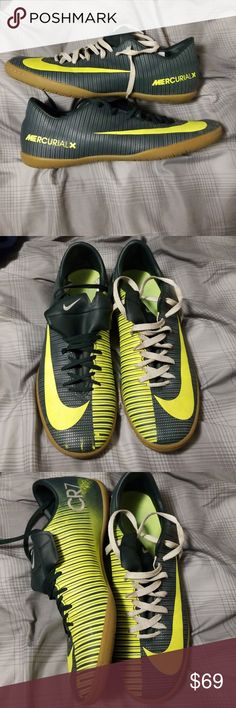 79c54ced36d Nike Mercurial CR7 Indoor Soccer Shoes Very good condition! Small scuff on  right shoe by