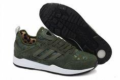 adidas sneakers dames legergroen