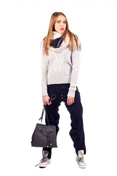 Nazberané nohavice