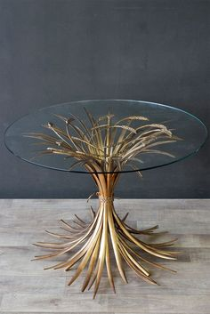 The Wheatsheaf Table with Bevelled Glass Top is the most elegant side table we have seen and simply had to have it at Rockett St George The soft