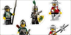 such a great site for free Lego knight birthday party printables for the party Birthday Themes For Boys, Lego Birthday Party, Boy Birthday, Lego Dragon, Castle Party, Lego Knights, Medieval Party, Knight Party, Free Lego