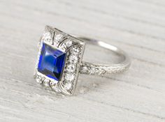 I could NOT resist this ring. Pure Loveliness. Erstwhile Jewelry