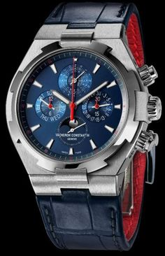 "Watch Zone: Vacheron Constantin Overseas Chronograph Perpetual Calendar ""New York"""