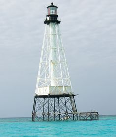 lighthouse off the Keys