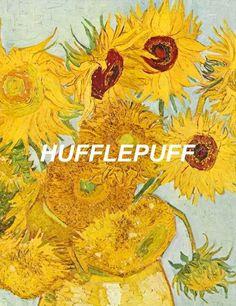Resultado de imagen de hufflepuff van gogh painting