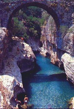 Beautiful View of Koprulu Kanyon at Antalya in Turkey